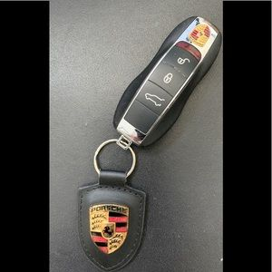 Porsche programmable keyless remote plus key ring